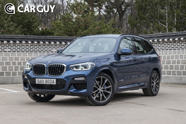 2018 BMW X3 xDrive30d M Sports Package